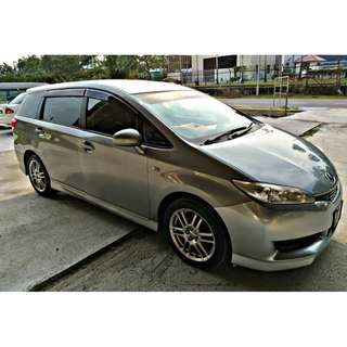TOYOTA WISH 1.8 SAMBUNG BAYAR/CONTINUE LOAN
