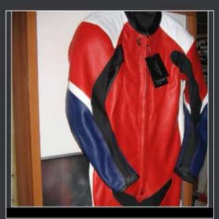 Leather Motor Bike Track Racing Suits