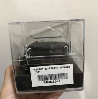 BN black bluetooth speaker