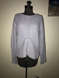 Grey/Blue Knit