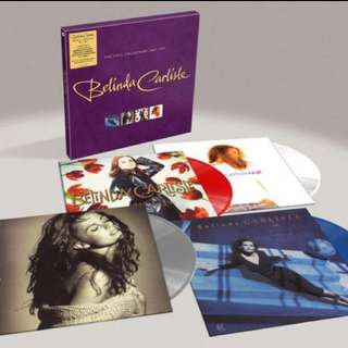 Ltd to 500 box sets- Belinda Carlisle / The Vinyl Collection 1987-1993 / limited coloured vinyl box