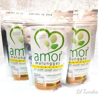 Organic Amor Malunggay Powder 100g