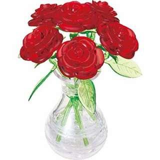 3d puzzle 立體拼圖 rose 玫瑰