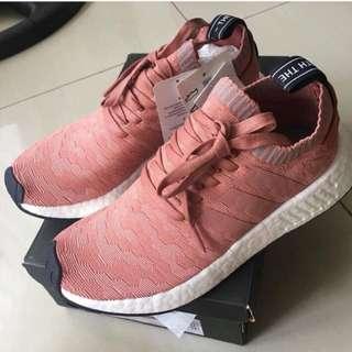 Adidas Original NMD R2 PK Runner Boost Primeknit Woman/Rose