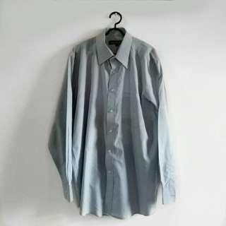 Harmonie Collection Soft Blue Shirt Kemeja Pria