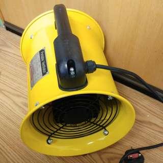 """220V 8"""" 手提式抽風機 連5米喉"""