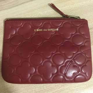 Comme des garcons Red pouch [Reduced price for quick sale]