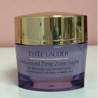 Estee Lauder Advanced Time Zone Night Age Reversing Line/Wrinkle Creme 50ml (Tester Pack)