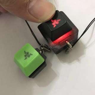 雷蛇減壓手痕 電競選手key