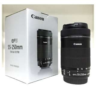 NEW Canon 55-250mm f4-5.6 IS STM EF-S Lens (Canon 55-250)