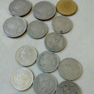 Old Coins and new Thailand