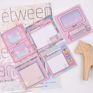 Cute pink Tumblr Note Pad