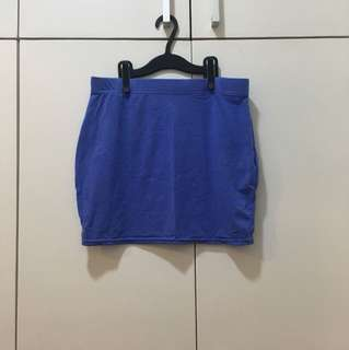 Factorie pencil skirt (blue)