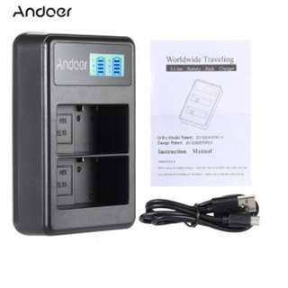 Andoer NP-FW50 Dual Charger