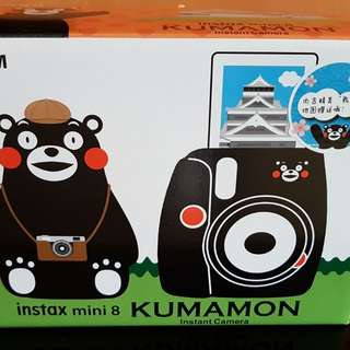 Instax camera mini 8 kumamon edition brand new