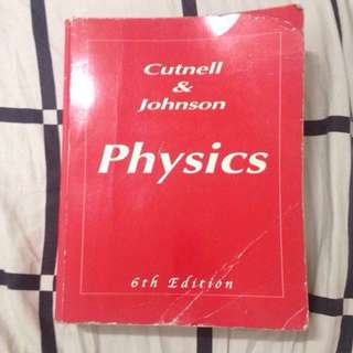 Cutnell & Johnson Physics 6th ed