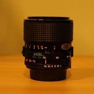 Minolta MD 35-70mm f/3.5 Macro