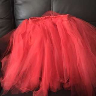 Red and Blue Tutu Skirts (Full proceed goes to charity)