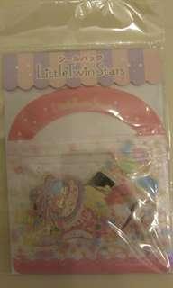 Little Twin Stars Stickers 貼纸 ㄧA款