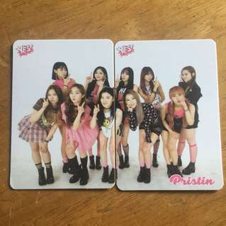 Pristin Yes Card