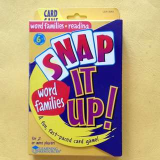 (BN) Snap It Up! Card Game