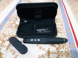 Laser Pointer & Wireless Presenter Laser