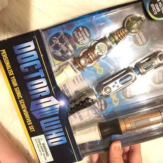 Doctor Who Personalise Your Sonic Screwdriver Set