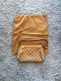 Gucci 手袋(可上膊) 非常新淨