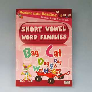Phonics - Short Vowel Word Families