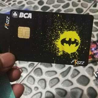 KARTU BCA FLAZZ BATMAN LOGO