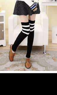 BNWOT Black Leg Warmers