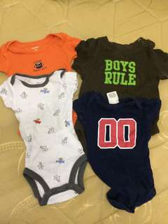 Take All Baby boy onesies
