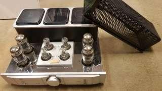 Tri 88 tube integrated amplifier w remote
