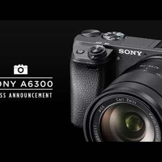 sony a6300 kit