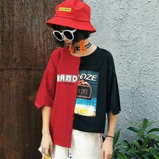 (PO) Harajuku Streetwear T-shirt