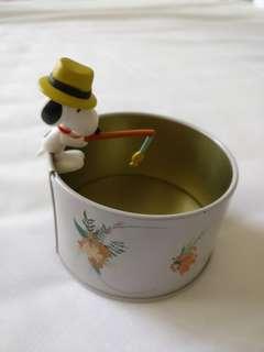 Pnts Snoopy 史諾比 史努比 鈎魚 杯裝飾