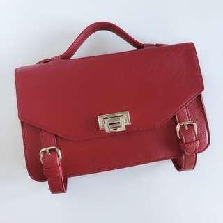 Forever 21 Red Side Bag
