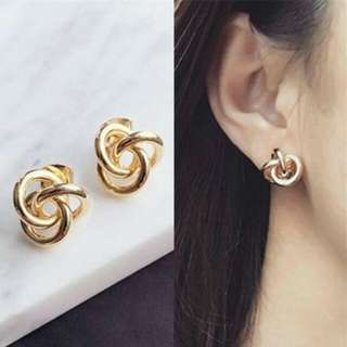 IMPORT - Anting Korea Minimalist Braided