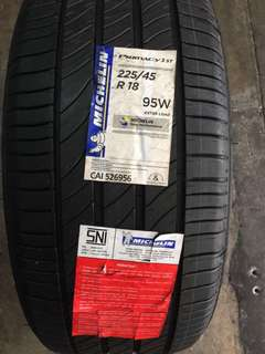 225/45R18 Michelin Primacy 3ST