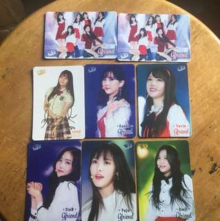 Gfriend Yes Card