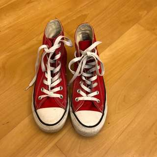 Classic Converse in Red 紅色CONS