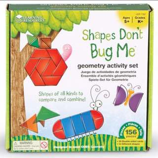 Learning Resources Shapes Don't Bug Me
