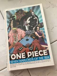 One piece note book