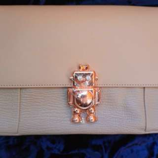 (100% New & Real) Ted Baker Jemms Across-Body Bag - Natural