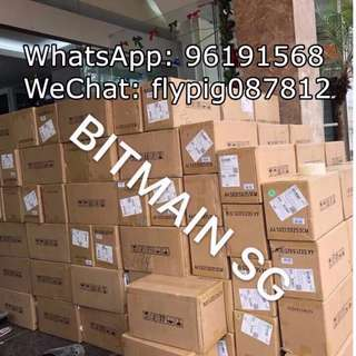 Bitmain Antminer L3+ ASIC Miner with PSU! READY STOCK ! Brand New!