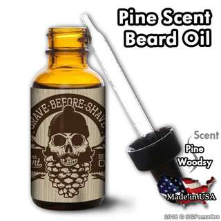 🚚 (Free mail) Pine Beard Oil by Grave Before Shave