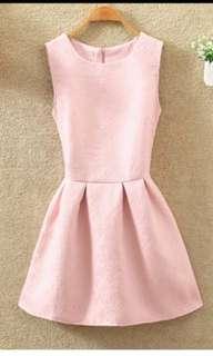 Pink Dress for ladies (Size XXL)