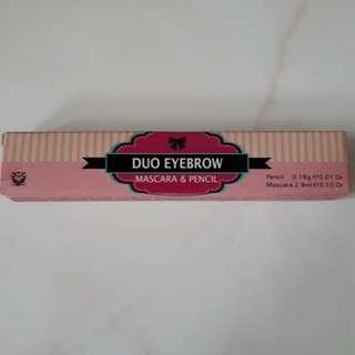 Duo Eyebrow Mascara & Pencil