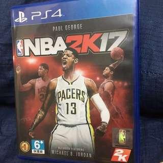 🚚 PS4 NBA 2K17 現貨 (完整包裝)