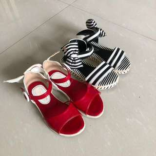 Bundle of Girl's shoes 4t